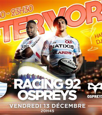 R92 vs OSP - Le programme de votre soirée à Paris La Défense Arena !