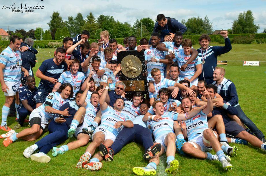 Mai 2015 : les Espoirs Champions de France