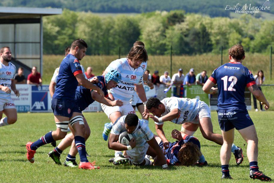 Le barrage des Espoirs Ciel et Blanc face à Grenoble