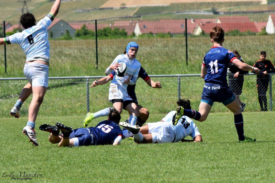 Le 8ème de finale des Gaudermen face à Grenoble