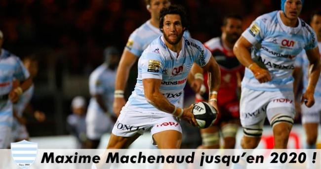 Maxime Machenaud juqu'en 2020