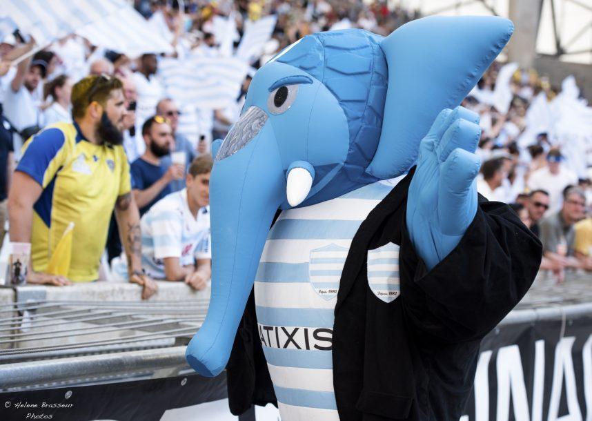 Belle fête dans les tribunes du stade Vélodrome de Marseille