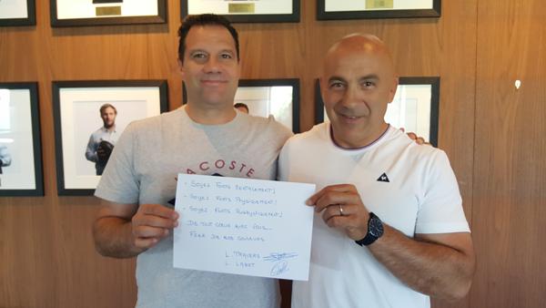 Laurent Labit et Laurent Travers soutiennent le RCF Nanterre