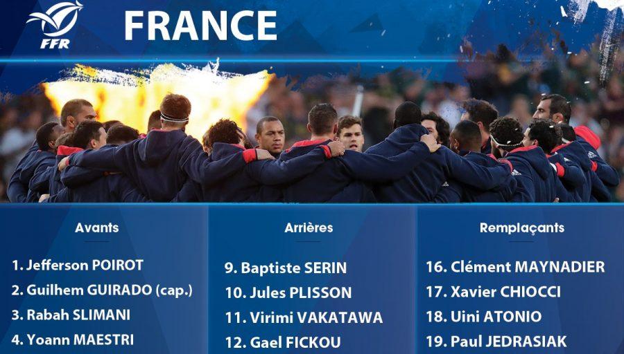 Composition du XV de France