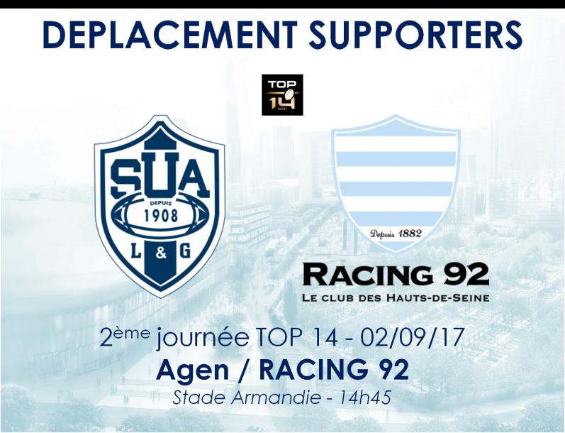 SU Agen - Racing 92