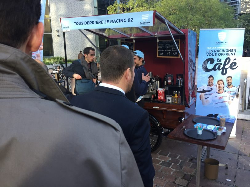 Opération cafés