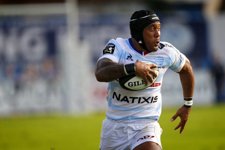 Racing 92 vs Castres Olympique - La course d'Anthony Tuitavake