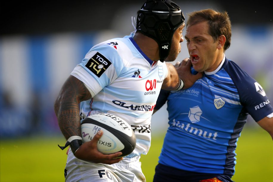 Racing 92 vs Castres Olympique - Anthony Tuitavake