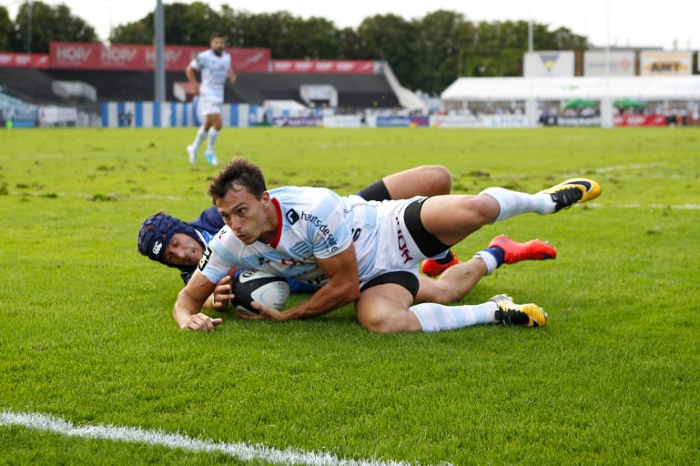 Racing 92 vs Castres Olympique - Juan Imhoff