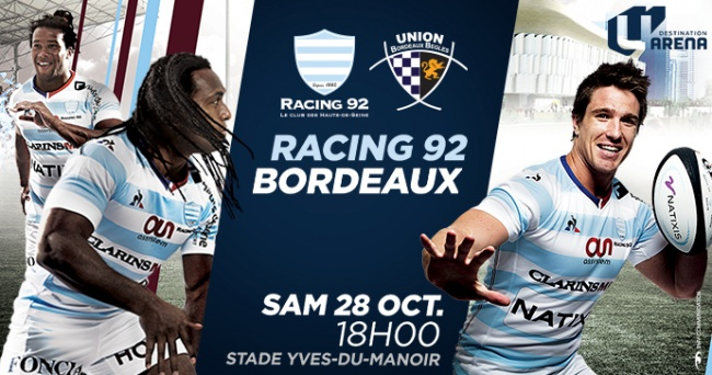 R92 vs UBB - Tous à Colombes pour recevoir les Bordelais !