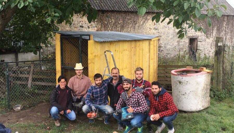 Atelier construction de poulailler