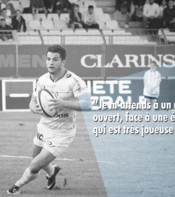 R92 vs UBB - 'Bordeaux aura à coeur de faire un bon résultat chez nous'