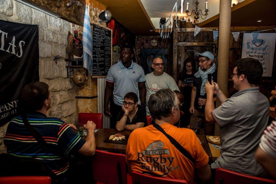 Cedate Gomes Sa à la rencontre des supporters