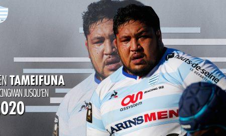 Ben Tameifuna Racingman jusqu'en 2020 !
