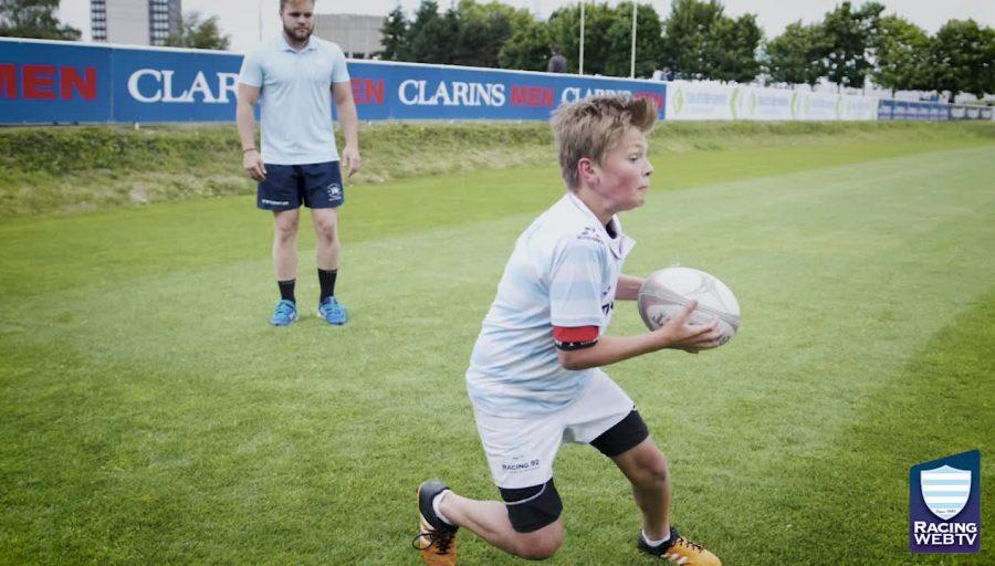 Les tutos de l'école de rugby - numéro 2 : le crochet !