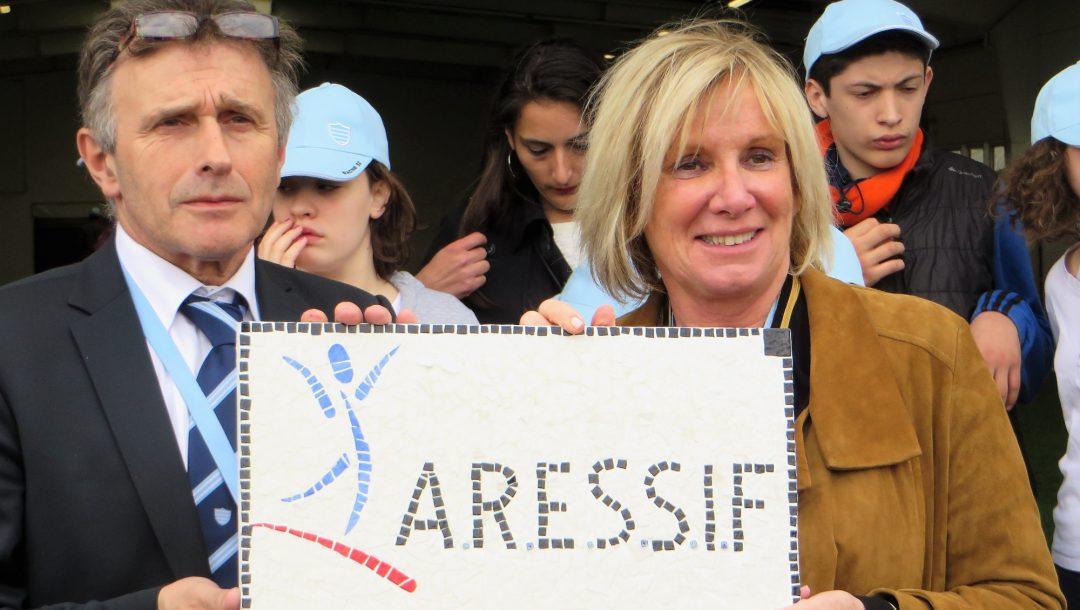 LA MARRAINE DE COEUR : Françoise LORENZETTINotre marraine de l'ARESSIF