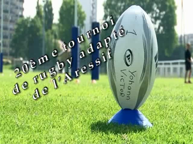 Le tournoi de rugby adapté de 2015 au Stade Yves du Manoir de Colombes