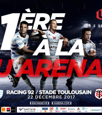 R92 vs ST - Préparer votre venue à la U Arena !
