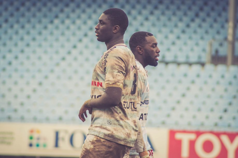 ESPOIRS - R92 v USAP - Ibrahim Diallo et Charles Nyounge