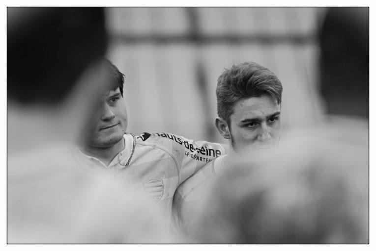 ESPOIRS - R92 v USAP - Enzo Barbarit et Jean Baptiste Fuster