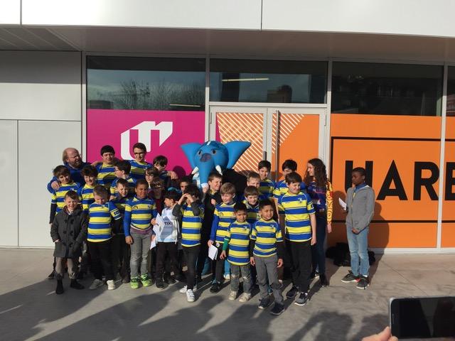 Les Ecoles de Rugby à la U Arena