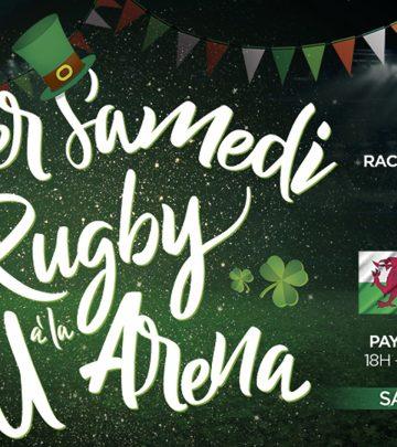 17 mars - Un samedi 100% rugby à la U Arena !