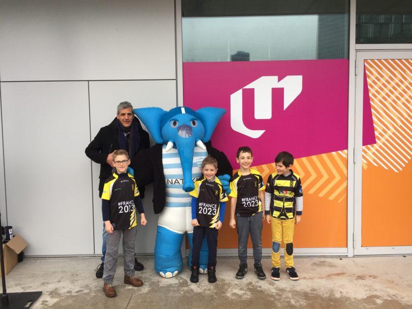 Les Ecoles de Rugby étaient présentes à la U Arena pour le derby !
