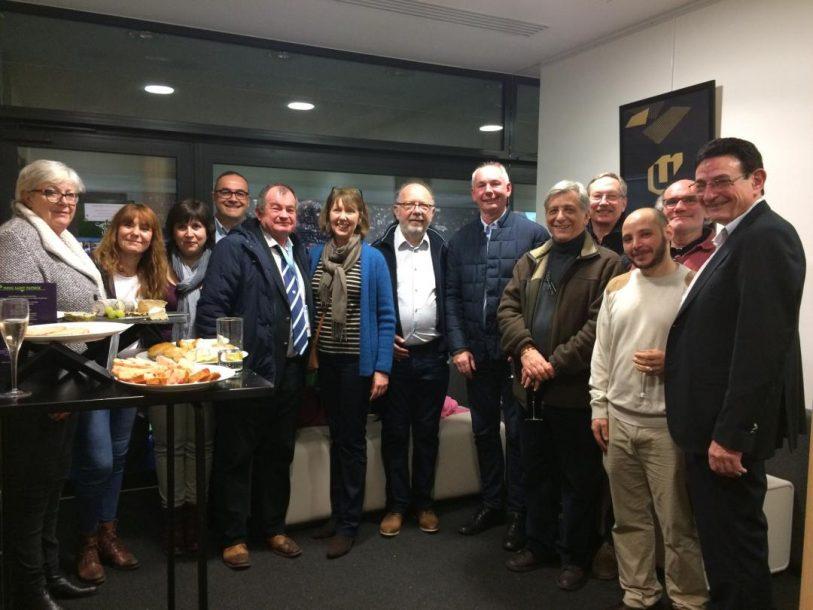 Les membres de la Ligue Ile de France de Rugby