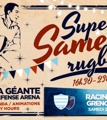 Super Samedi Rugby - Le programme !
