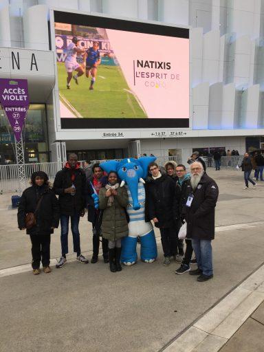 Les équipes reçues à Paris la Défense Arena