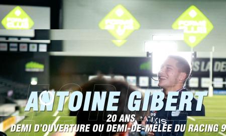 Formé au club - Antoine Gibert