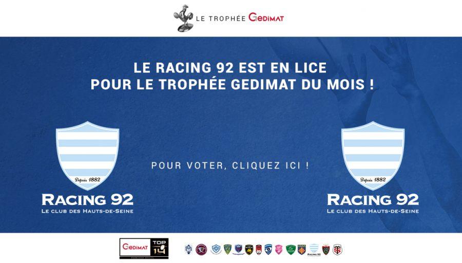 Trophée Gedimat - Essai d'Antonie Claassen
