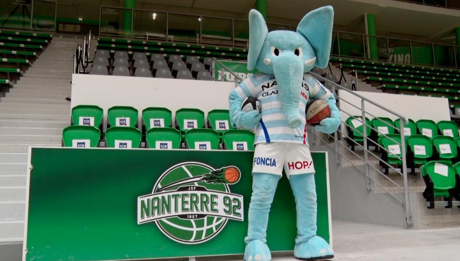 Mahout teste le basket avec Nanterre 92 et de département des Hauts-de-Seine