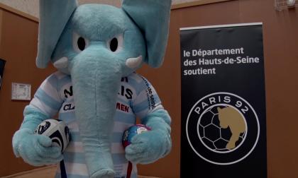 Mahout face aux lionnes du Paris 92 - Département des Hauts-de-Seine