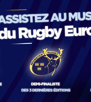 Le  meilleur du Rugby européen à Paris La Défense Arena