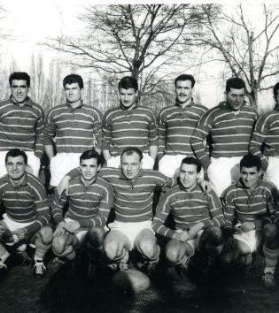 1957 - Grousset, Moncla, Debet, Paillassa, Crauste, Lavergne, Brub, Labeque, Deveaux, Marquesuzaa, Vigne, Vannier, Fernandez, Chapuis