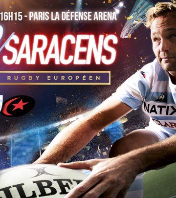 Le sommet du rugby européen à Paris La Défense Arena