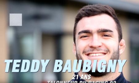 Teddy Baubigny, formé au club
