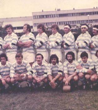 1975 - Seemuler , Bonnefont , Decrae , Touzard , Peron , Chevallier , Clerc , Urtizverea , Debet , Orduna , Gourdon , Taffary , Seillier , Blanc