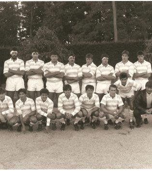 1987 - Serriere, Tachdjian, Atcher, Blond, Bonnefont, Cabannes, Martinez, Pouyau, Rousset, Blanc, Paparemborde, Taffary