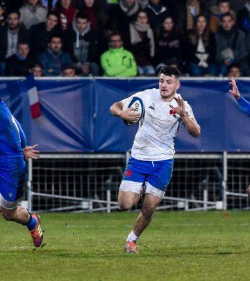 FRANCE U20 - 6 Ciel et Blanc face au Pays de Galles !