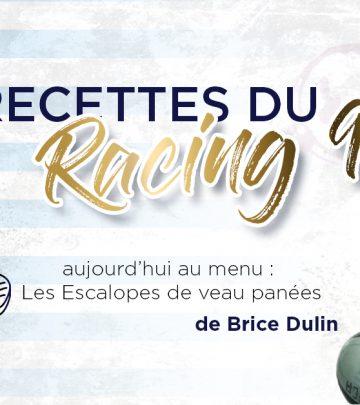 Les Recettes du Racing 92 - Les escalopes de veau panées de Brice Dulin