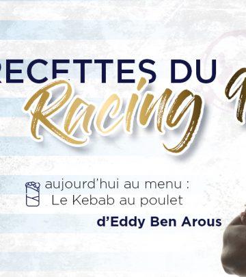 Les Recettes du Racing 92 - Le kebab d'Eddy Ben Arous
