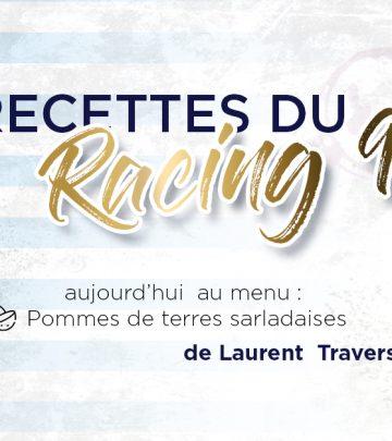 Les Recettes du Racing 92 - Pommes de terre Sarladaises de Laurent Travers