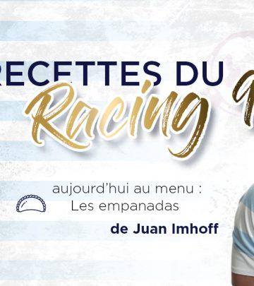 Les Recettes du Racing 92 - Les empanadas de Juan Imhoff