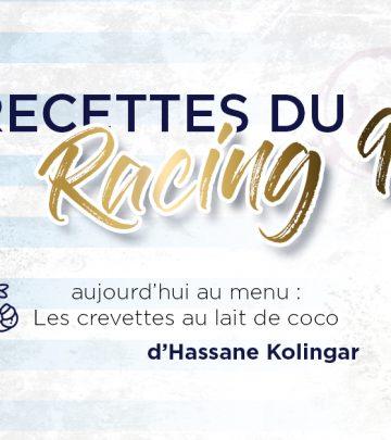 Les Recettes du Racing 92 - Les crevettes coco d'Hassane Kolingar