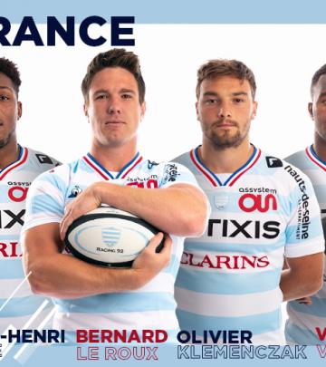 6 Ciel et Blanc en équipe de France !