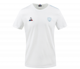 T-shirt Blanc Racing 92 x Le Coq Sportif