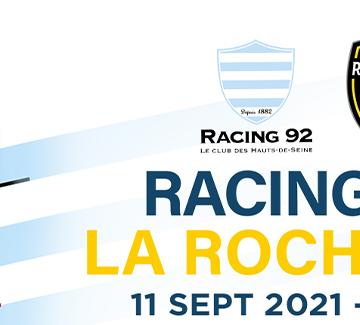 Racing 92 v Stade Rochelais - Venez nombreux !