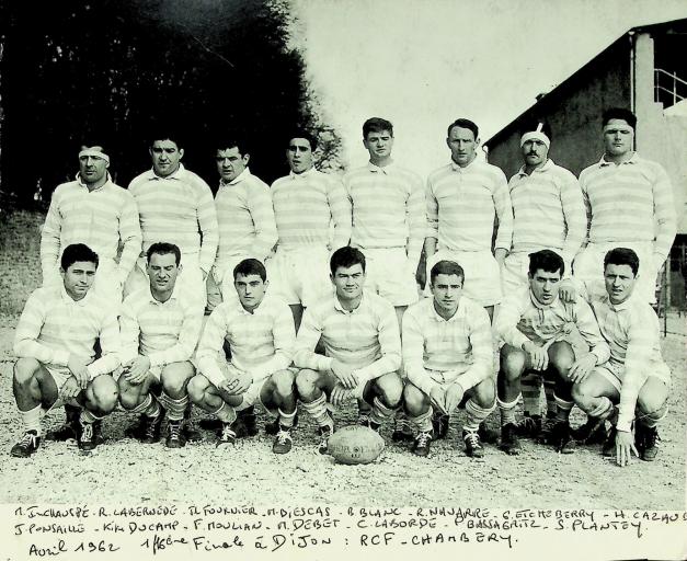 Jean Luc Fournier (3e debout en partant de la gauche)